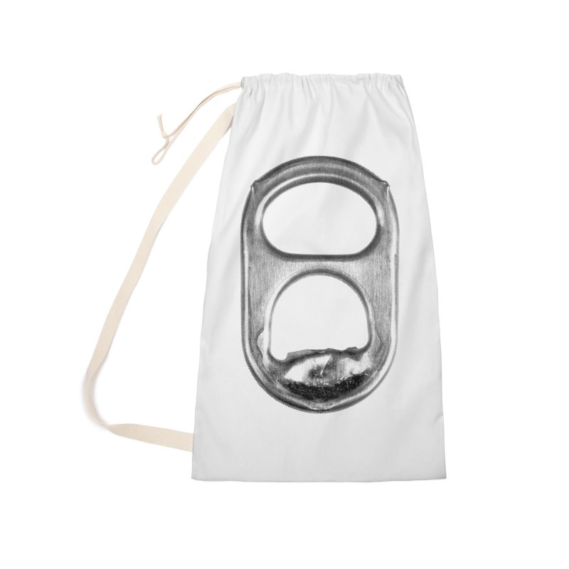 Ring Pull Accessories Laundry Bag Bag by tonteau's Artist Shop