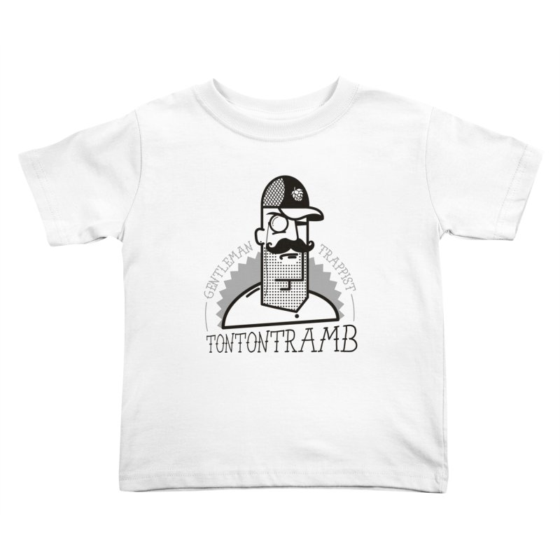 Gentleman Trappist Kids Toddler T-Shirt by Tramb
