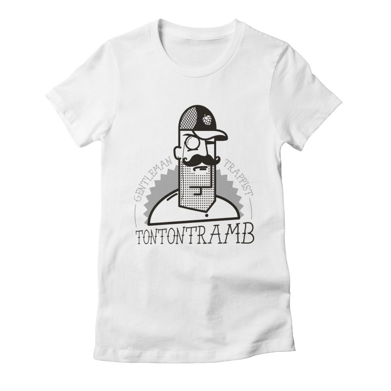 Gentleman Trappist Women's Fitted T-Shirt by Tramb