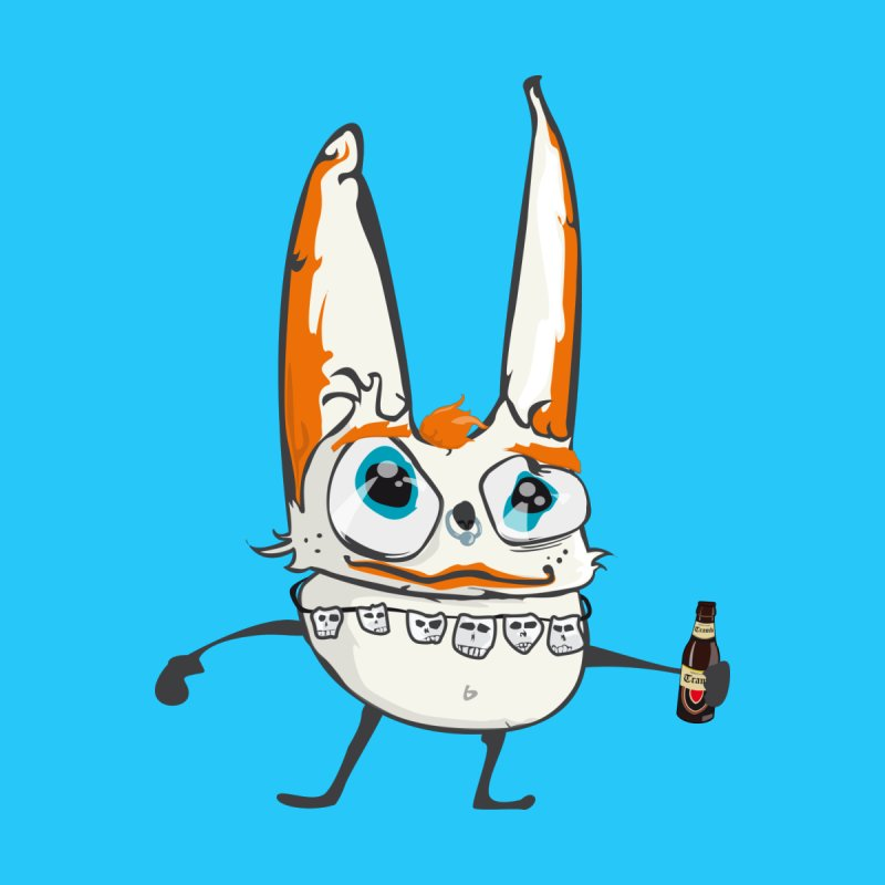 Drunk Rabbit by Tramb