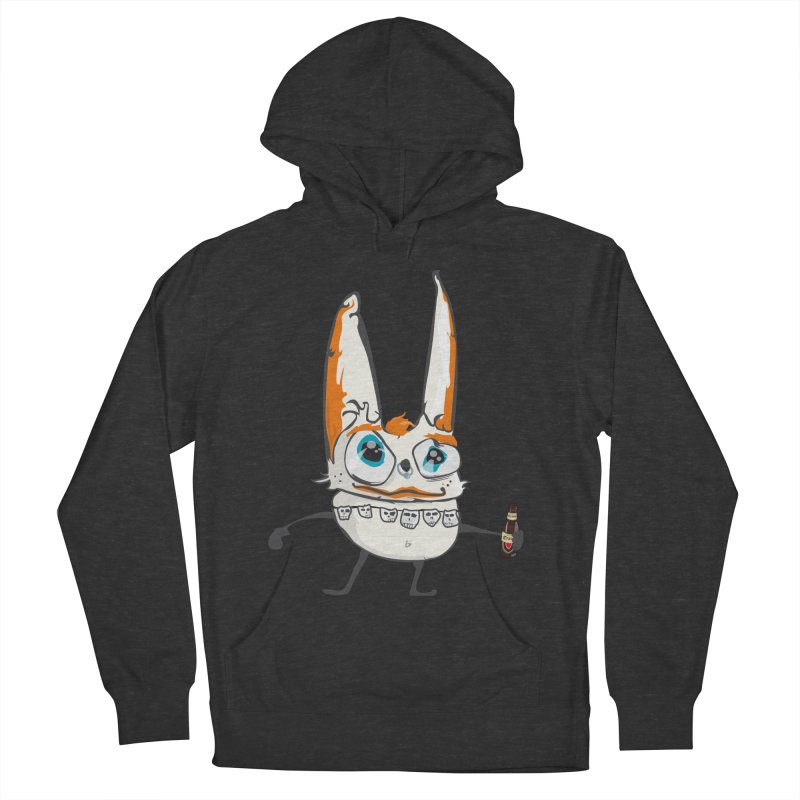 Drunk Rabbit Men's Pullover Hoody by Tramb