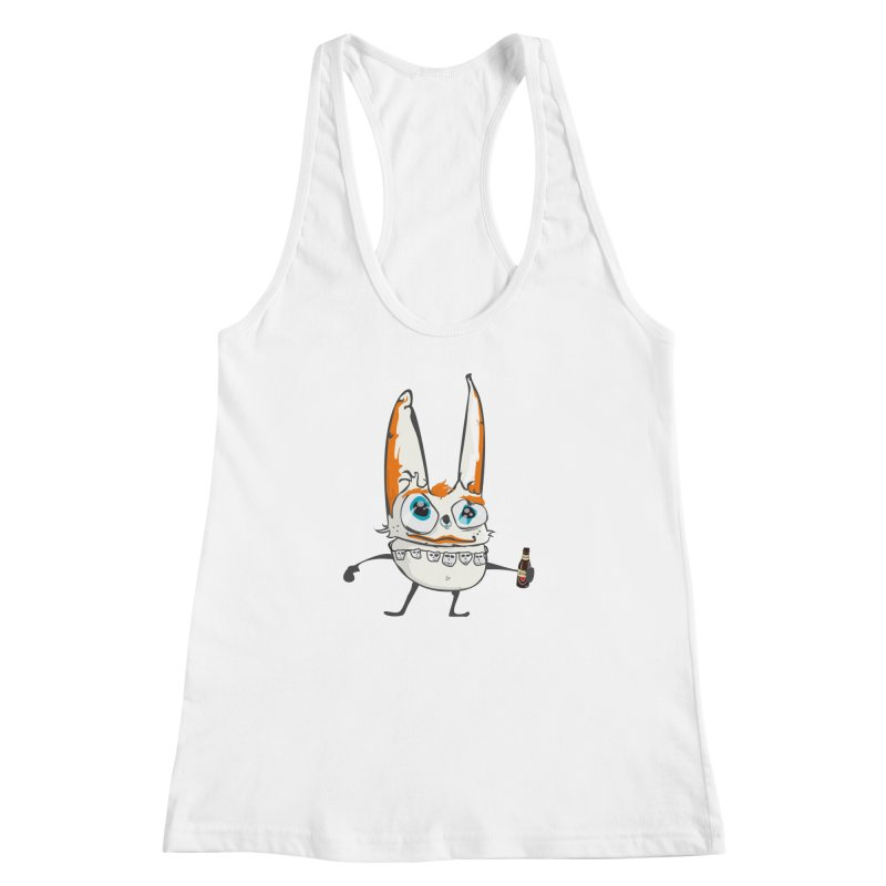 Drunk Rabbit Women's Racerback Tank by Tramb