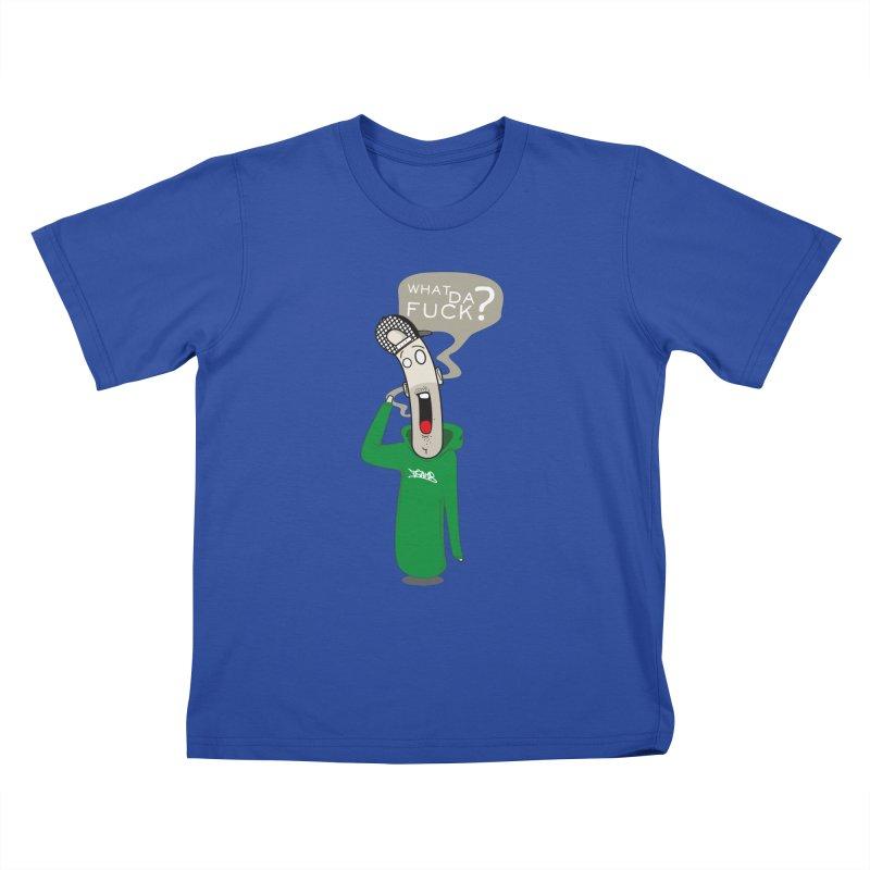 What Da Fuck??? Kids T-Shirt by Tramb