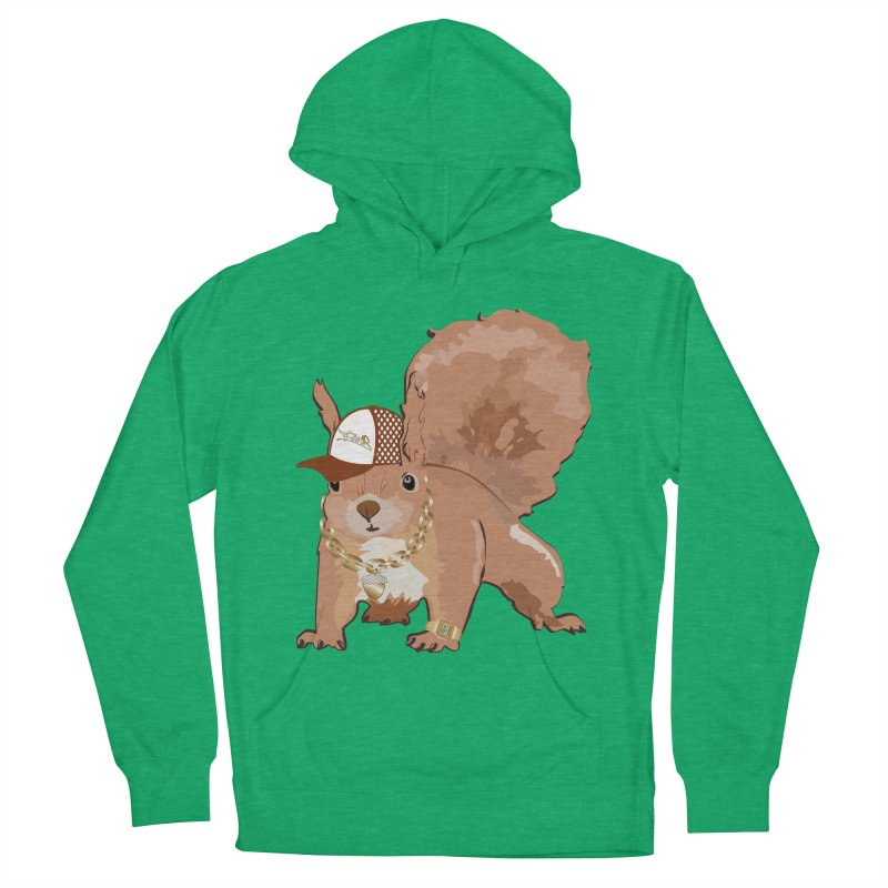 Oldschool Squirrel Men's Pullover Hoody by Tramb