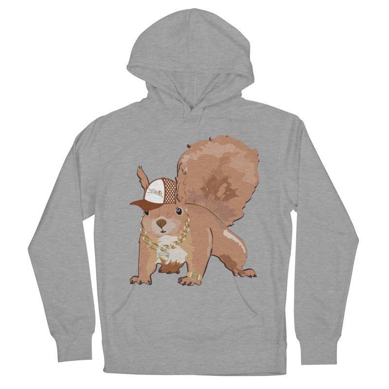 Oldschool Squirrel Men's Pullover Hoody by Tramb