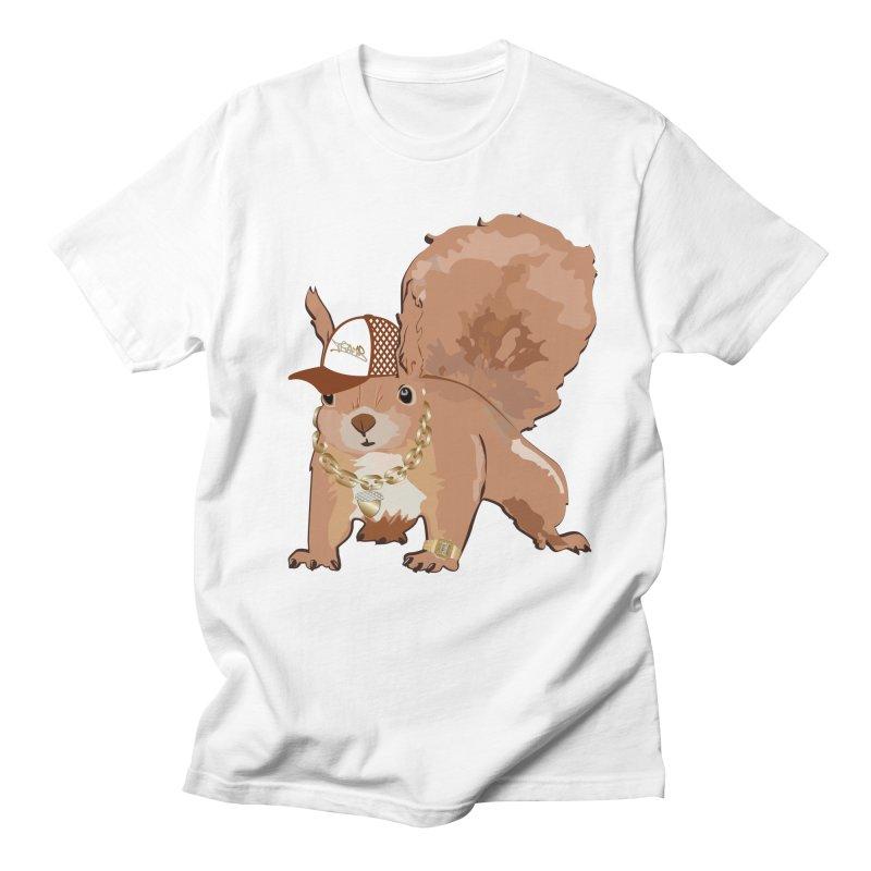 Oldschool Squirrel Men's T-Shirt by Tramb