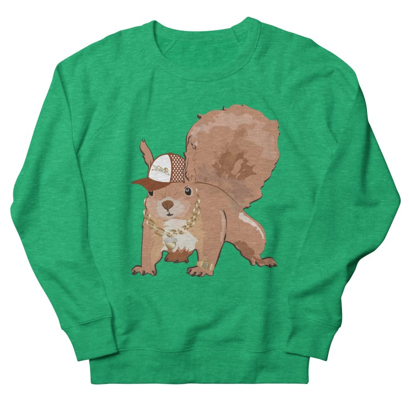 Oldschool Squirrel Men's Sweatshirt by Tramb