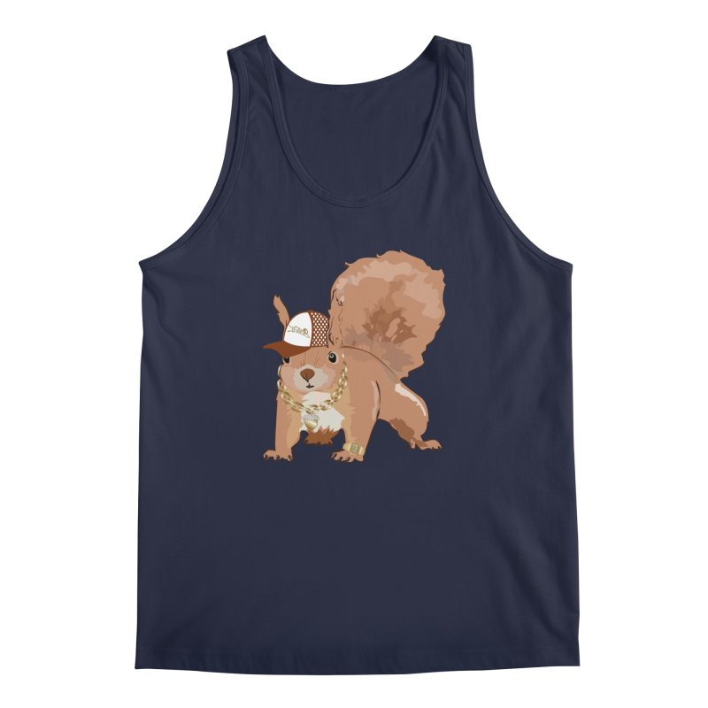 Oldschool Squirrel Men's Tank by Tramb