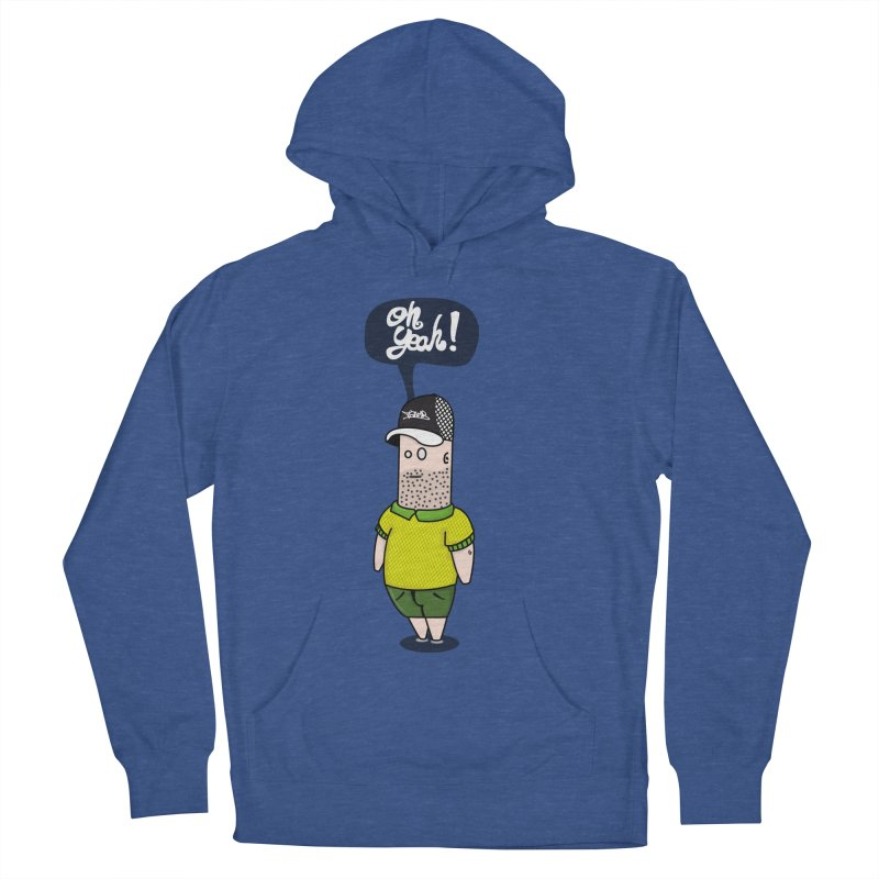 Oh Yeah! Men's Pullover Hoody by Tramb