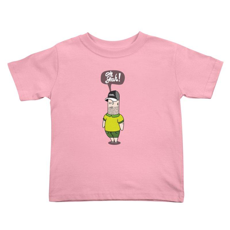 Oh Yeah! Kids Toddler T-Shirt by Tramb