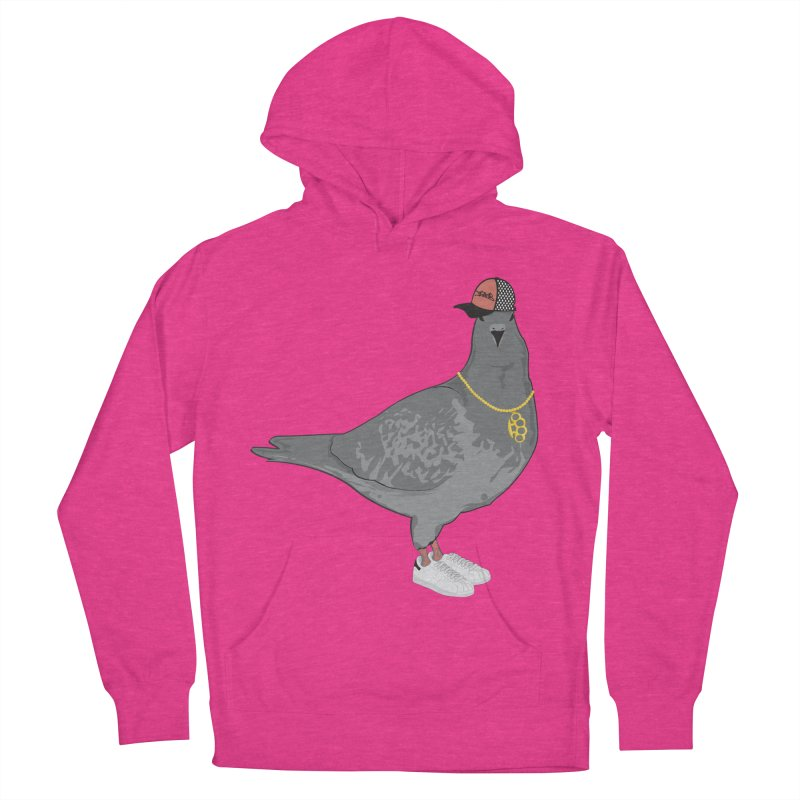 Oldschool Pigeon Men's Pullover Hoody by Tramb