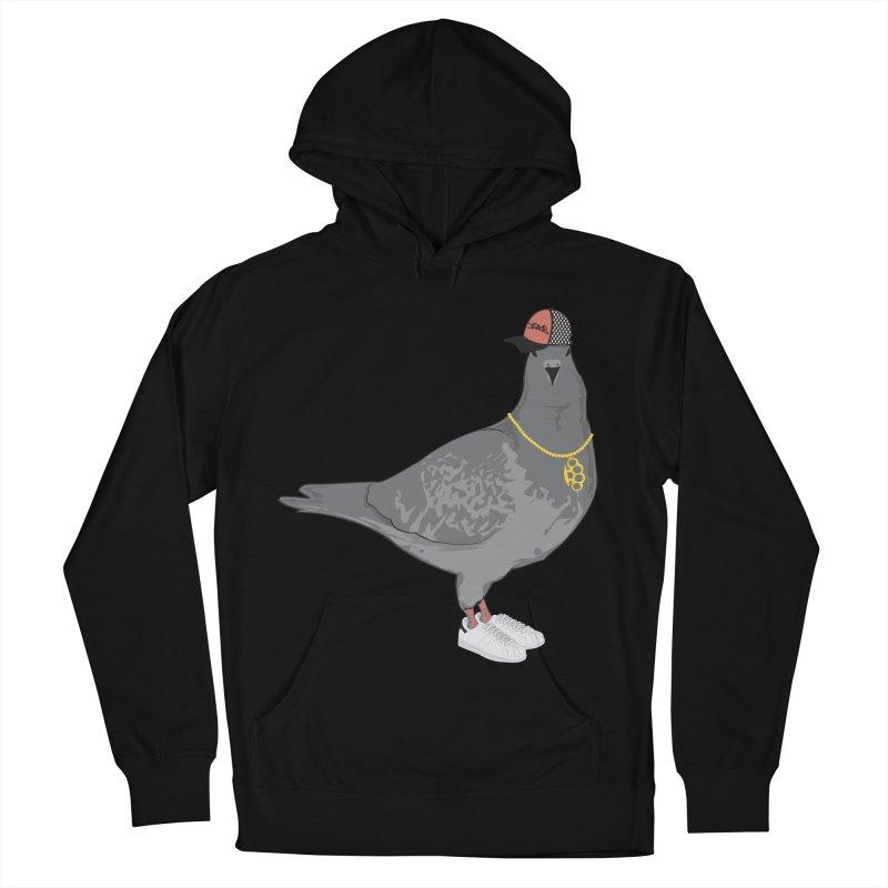 Oldschool Pigeon Men's Pullover Hoody by Tramb
