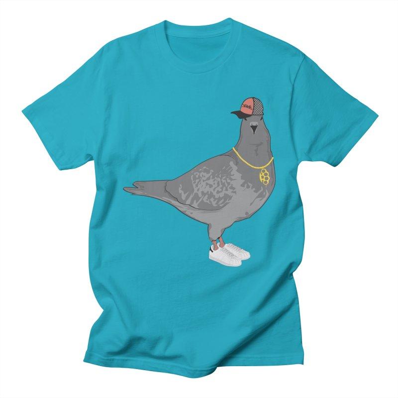 Oldschool Pigeon Men's T-shirt by Tramb