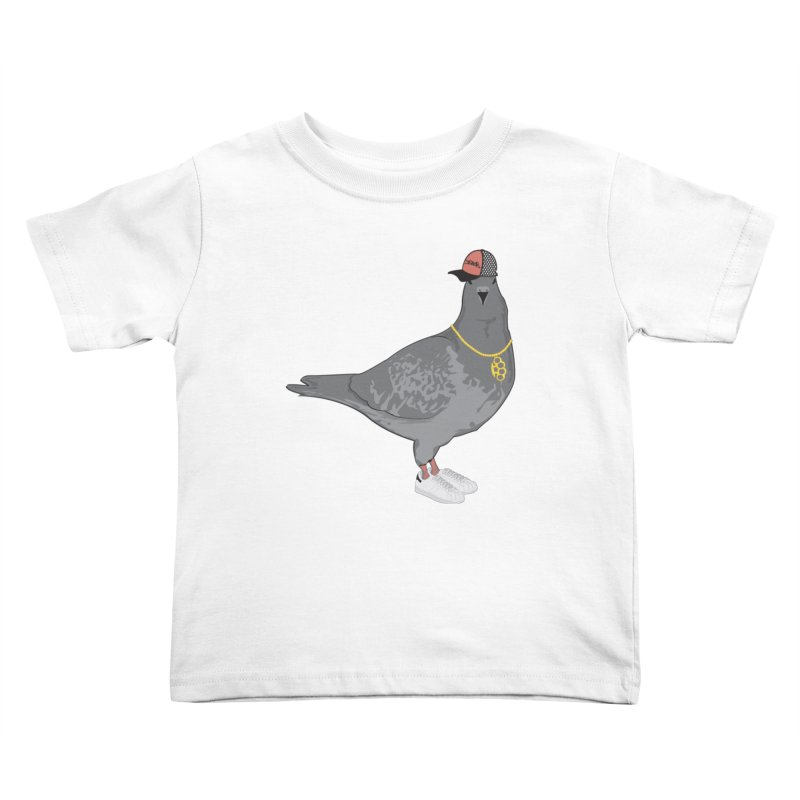 Oldschool Pigeon Kids Toddler T-Shirt by Tramb