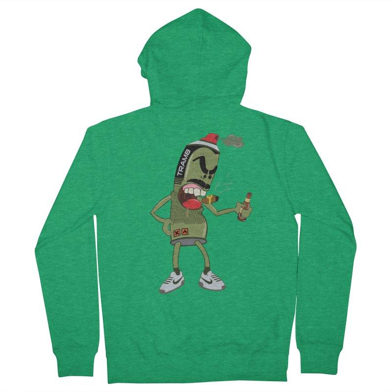 Smokin' Spray! Men's Zip-Up Hoody by Tramb
