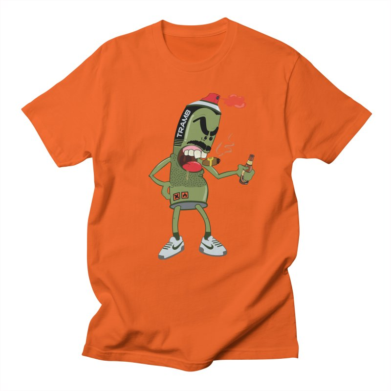 Smokin' Spray! Men's T-Shirt by Tramb