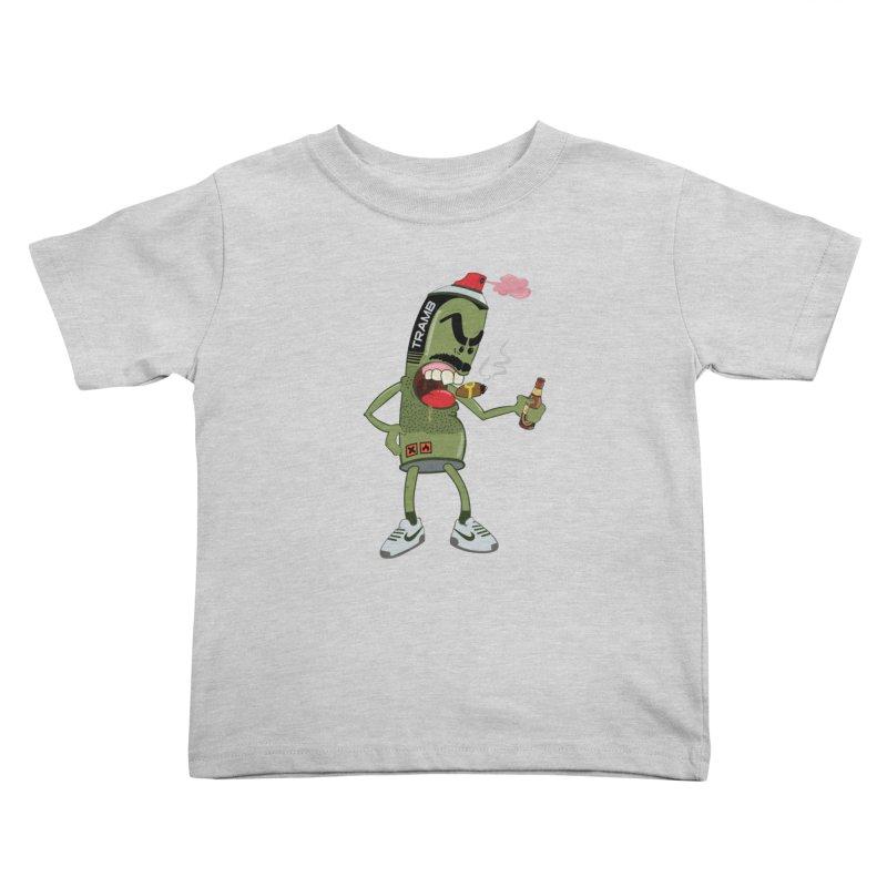 Smokin' Spray! Kids Toddler T-Shirt by Tramb