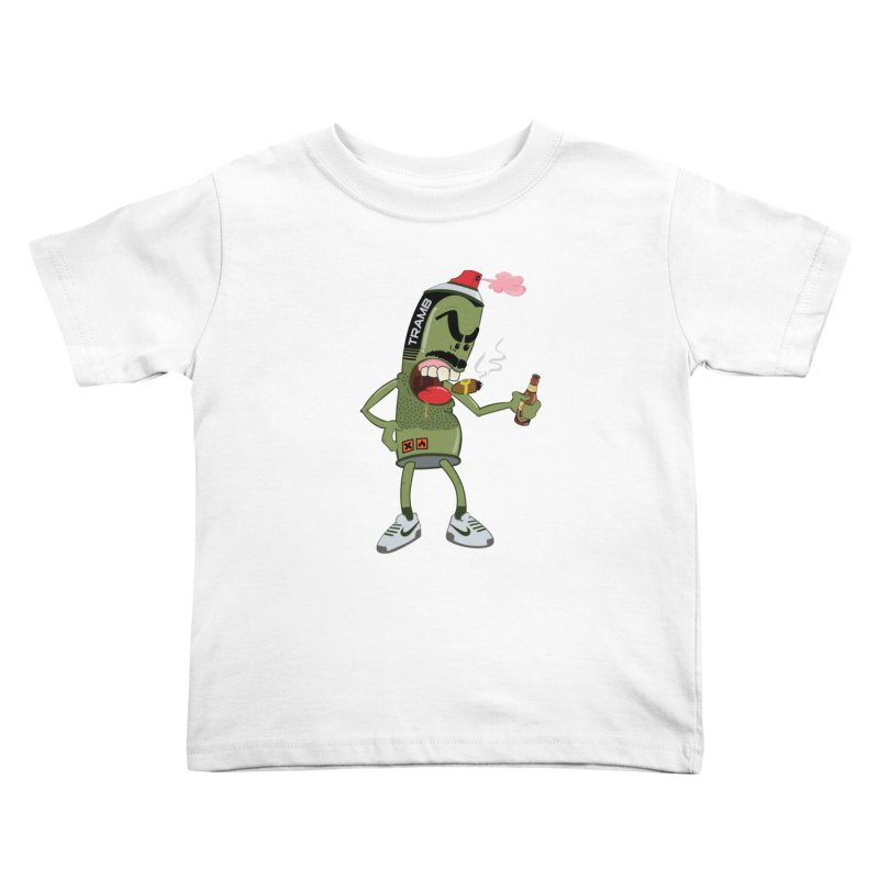 Smokin' Spray! Kids Toddler T-Shirt by Tramb