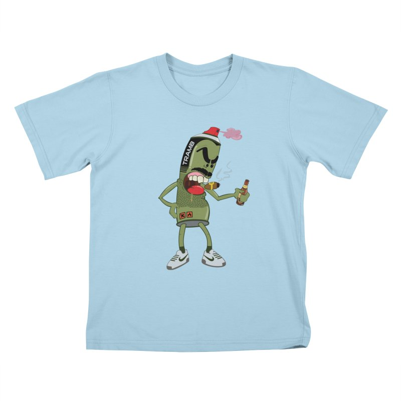 Smokin' Spray! Kids T-shirt by Tramb