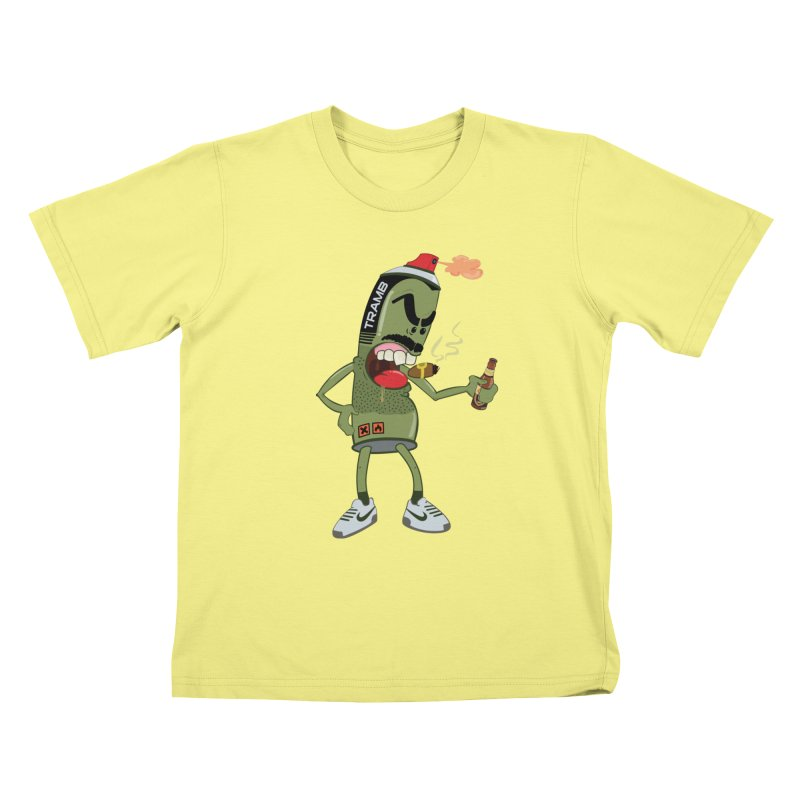 Smokin' Spray! Kids T-shirt by Tramb