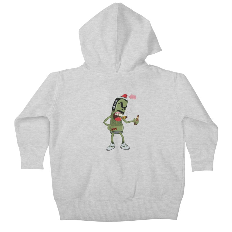 Smokin' Spray! Kids Baby Zip-Up Hoody by Tramb