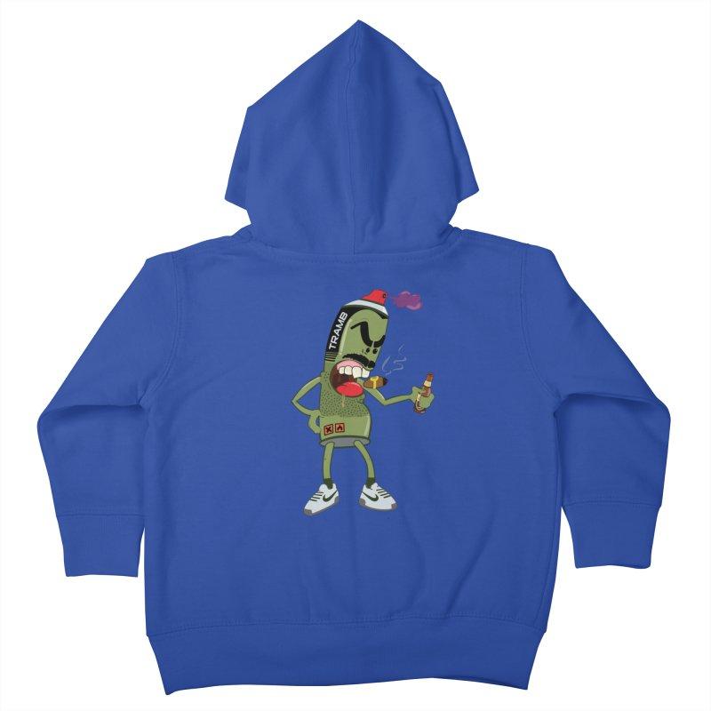 Smokin' Spray! Kids Toddler Zip-Up Hoody by Tramb