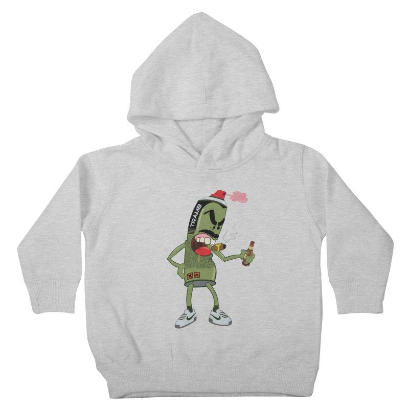 Smokin' Spray! Kids Toddler Pullover Hoody by Tramb