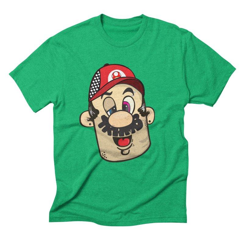 Marioooo Men's Triblend T-Shirt by Tramb