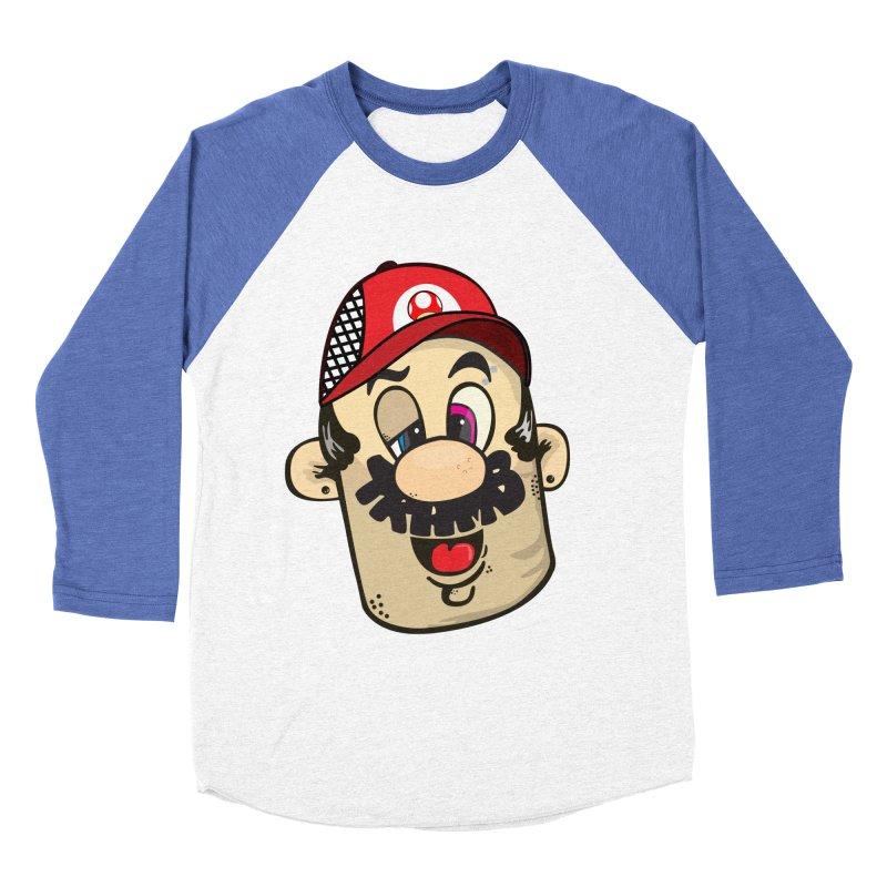 Marioooo Men's Baseball Triblend T-Shirt by Tramb
