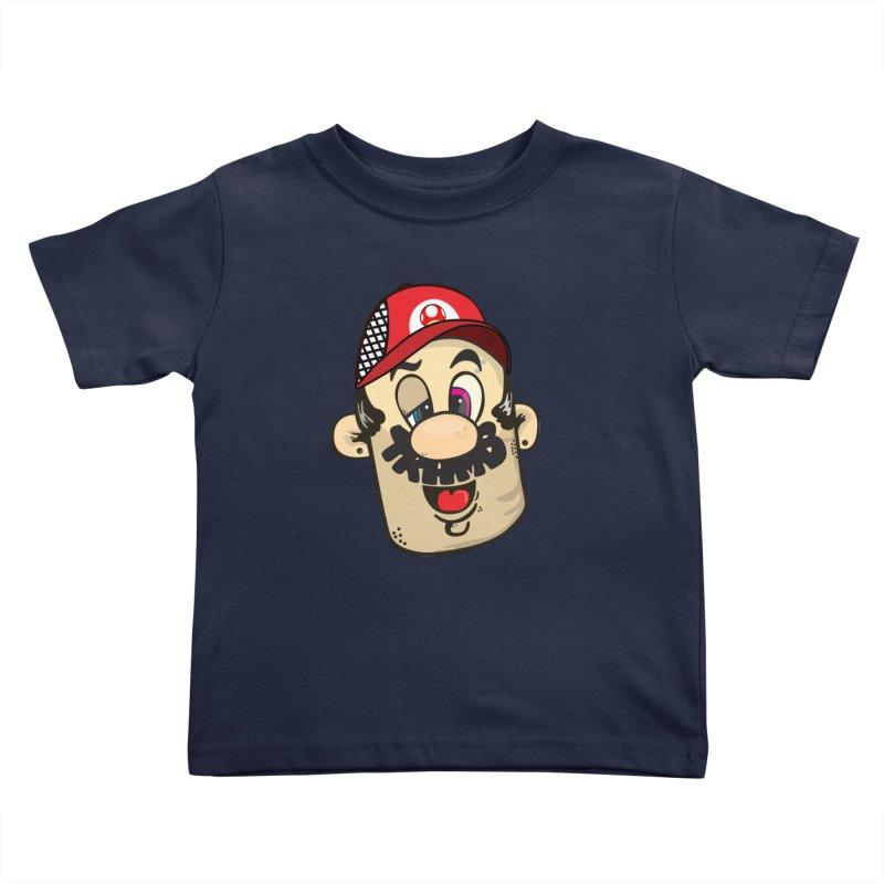 Marioooo Kids Toddler T-Shirt by Tramb