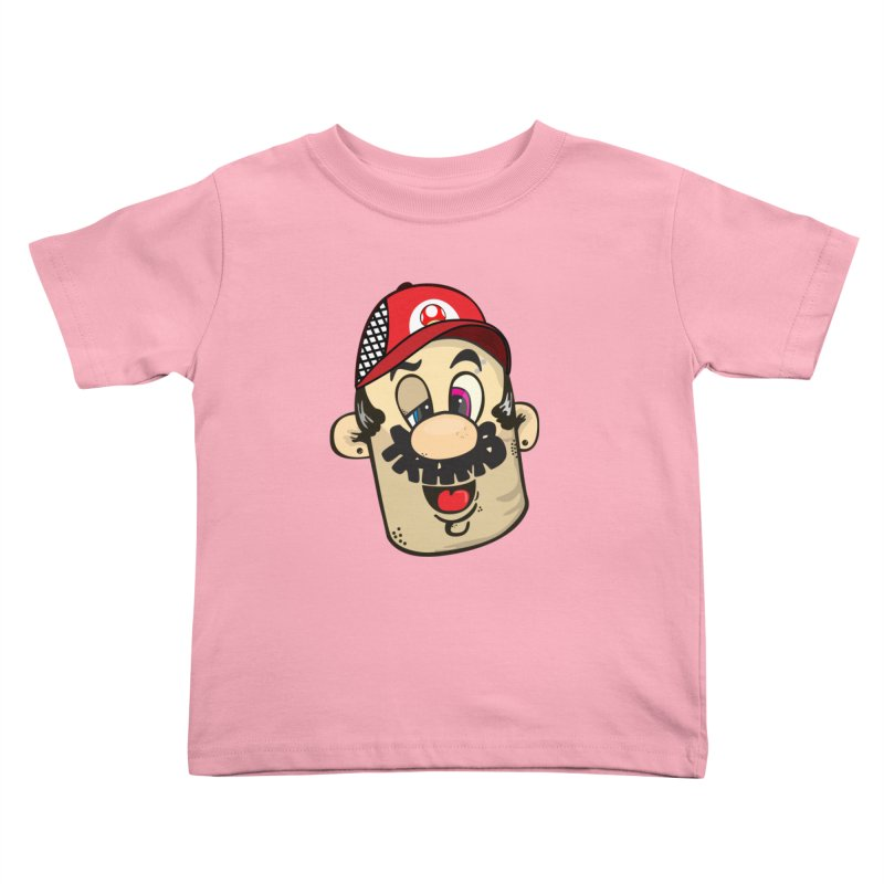 Marioooo Kids Toddler T-Shirt by Tramb