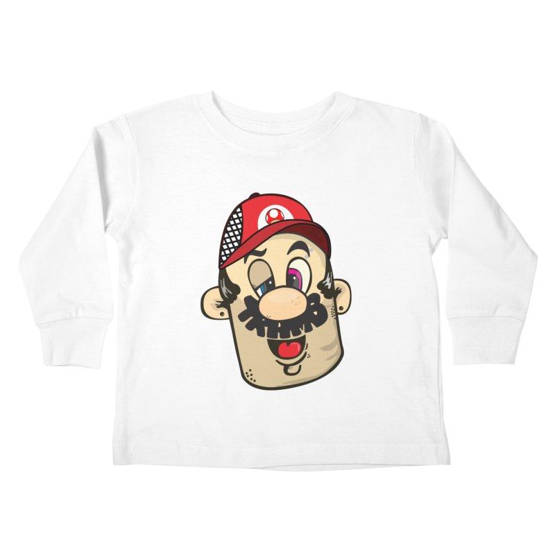 Marioooo Kids Toddler Longsleeve T-Shirt by Tramb
