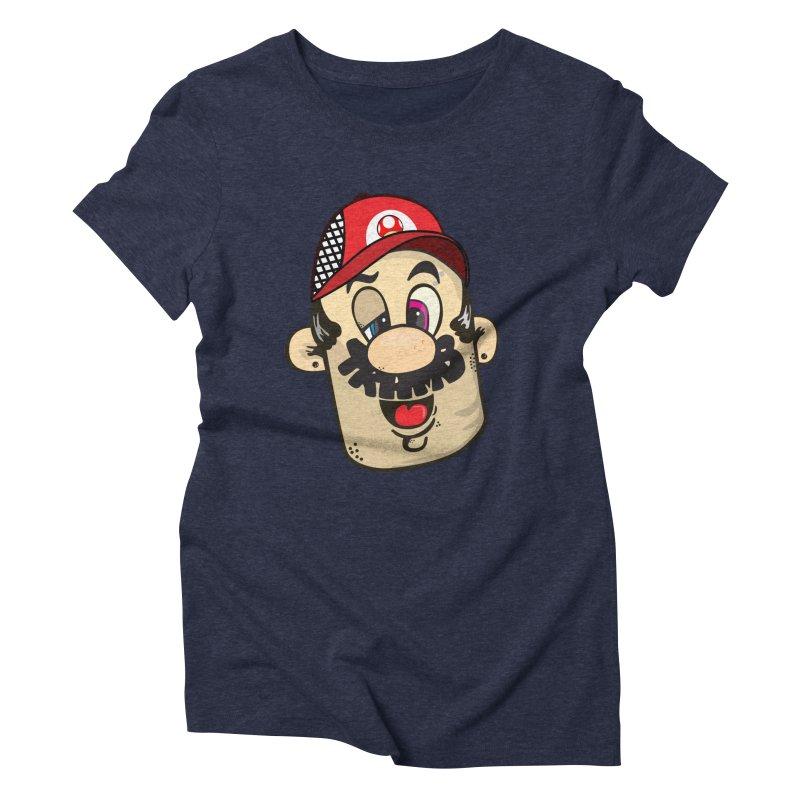 Marioooo Women's Triblend T-Shirt by Tramb