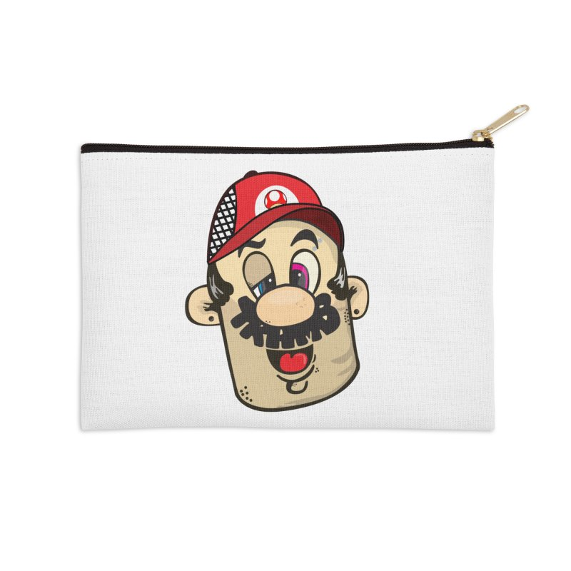 Marioooo Accessories Zip Pouch by Tramb