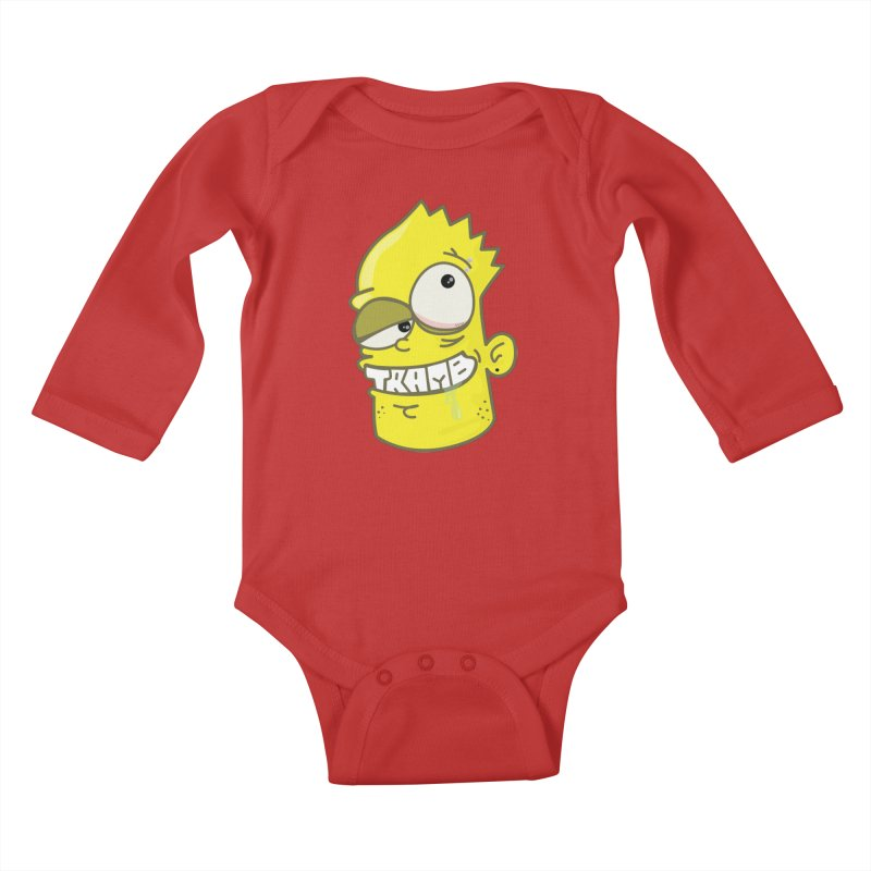 TramBart Kids Baby Longsleeve Bodysuit by Tramb
