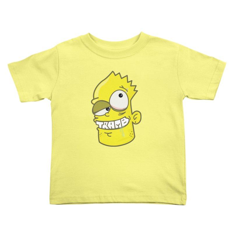TramBart Kids Toddler T-Shirt by Tramb