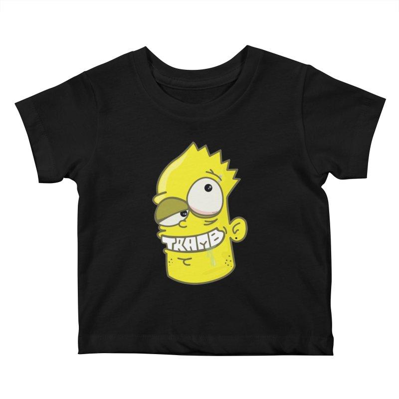 TramBart Kids Baby T-Shirt by Tramb