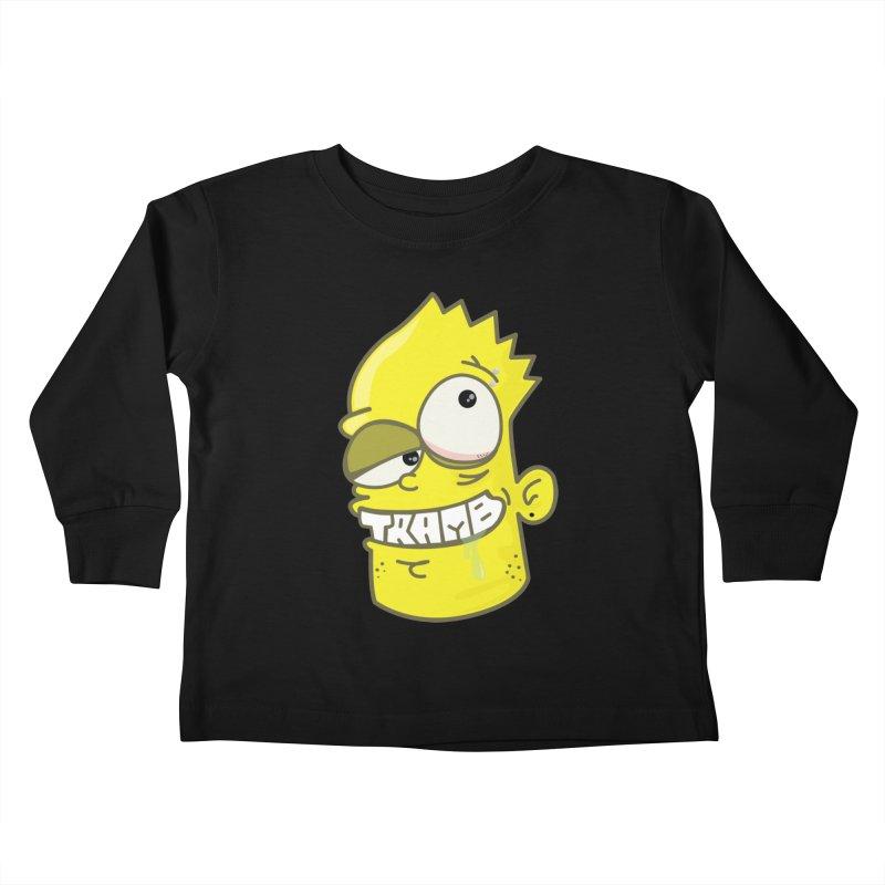 TramBart Kids Toddler Longsleeve T-Shirt by Tramb