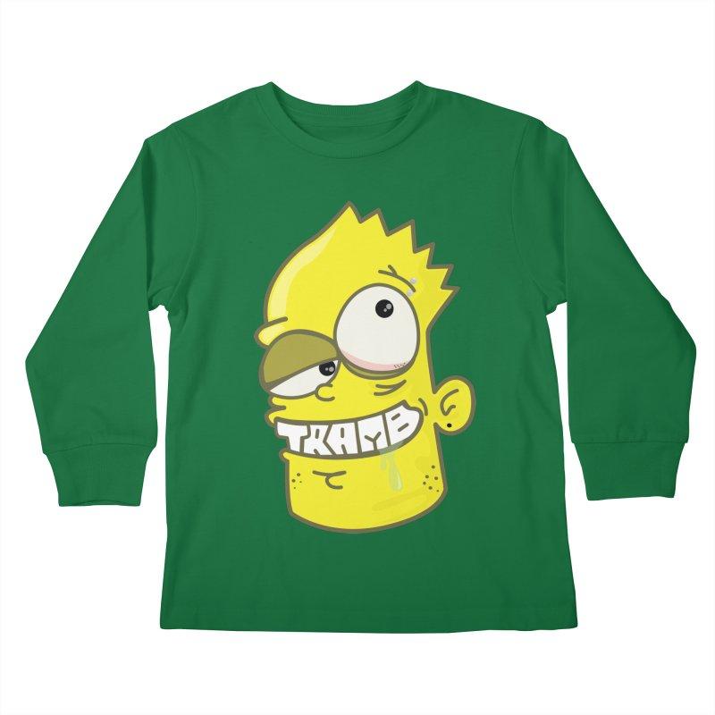 TramBart Kids Longsleeve T-Shirt by Tramb