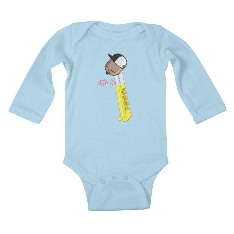 Choose your Flavor Kids Baby Longsleeve Bodysuit by Tramb