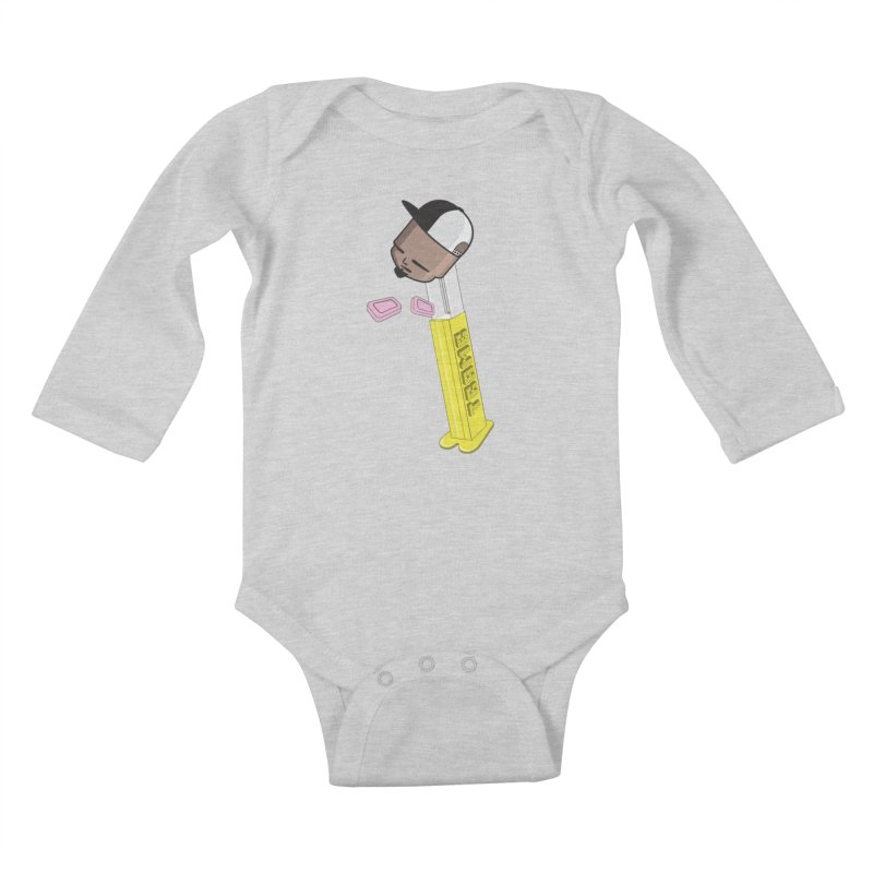 Choose your Flavor Kids Baby Longsleeve Bodysuit by Tramb
