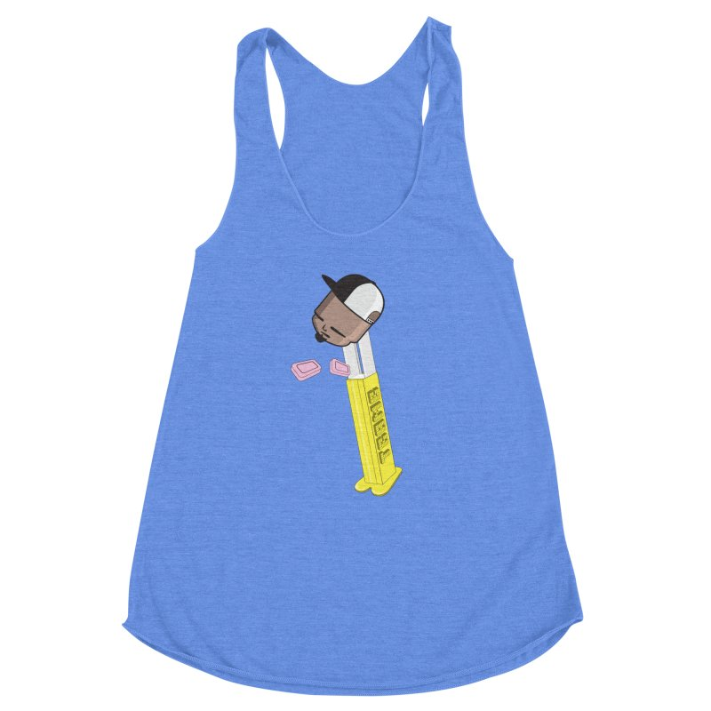 Choose your Flavor Women's Racerback Triblend Tank by Tramb