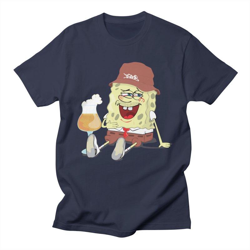 Sponge Beer Men's T-Shirt by Tramb