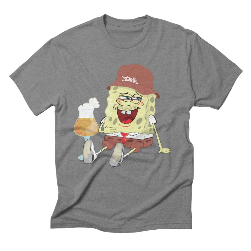 Sponge Beer Men's Triblend T-Shirt by Tramb