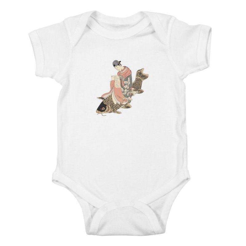 Oldschool Estampe! Kids Baby Bodysuit by Tramb