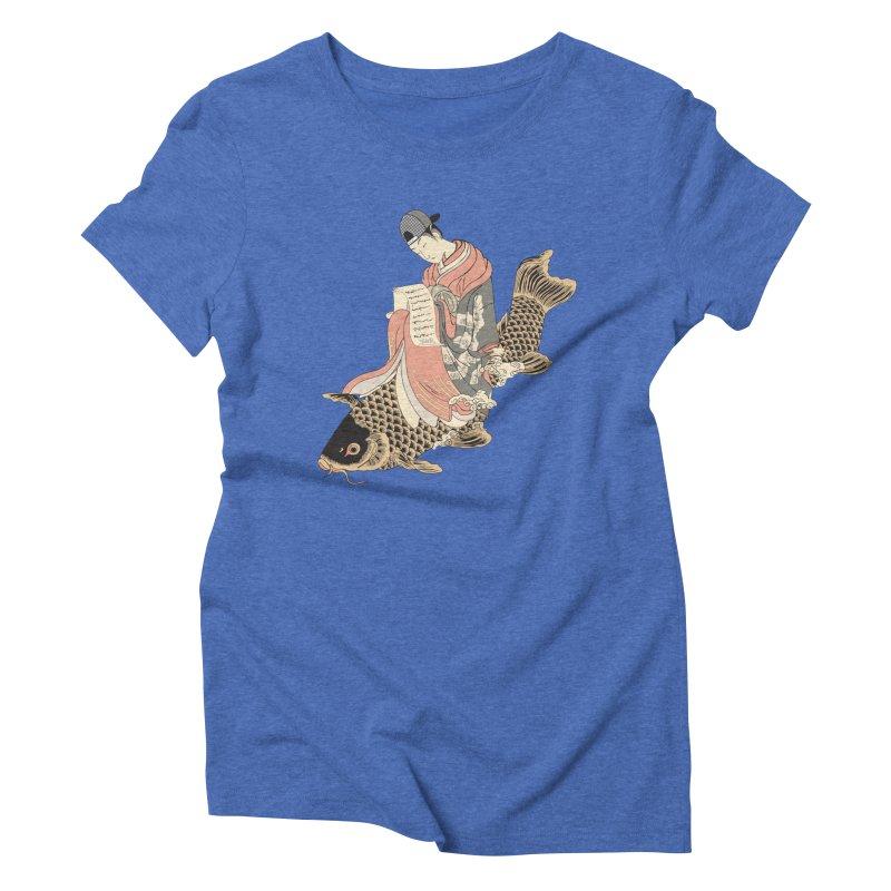 Oldschool Estampe! Women's Triblend T-Shirt by Tramb