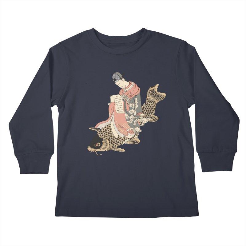 Oldschool Estampe! Kids Longsleeve T-Shirt by Tramb