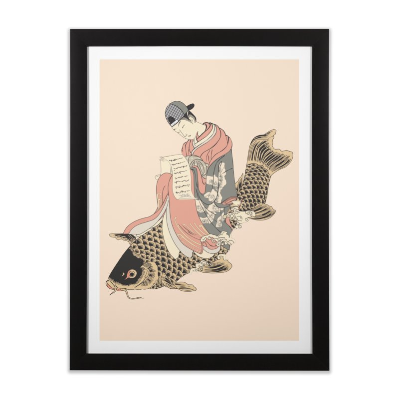 Oldschool Estampe! Home Framed Fine Art Print by Tramb