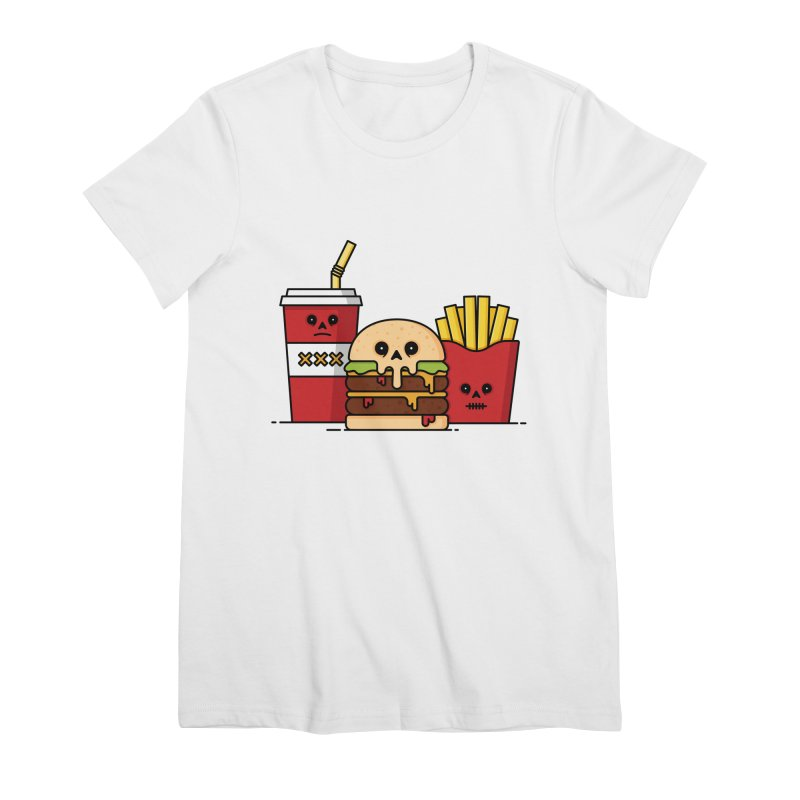 Unhappy Meal Women's Premium T-Shirt by Tony Bamber's Shop