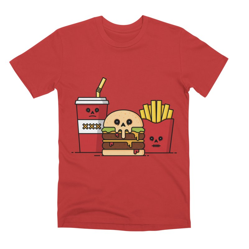 Unhappy Meal Men's Premium T-Shirt by Tony Bamber's Shop